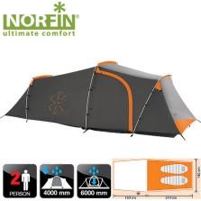 Двухместная палатка Norfin Otra 2 Alu